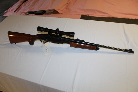 Remington Gamemaster Model 760, 6mm Rem. W Bushnell 3X-9X Scope s/n 6945984