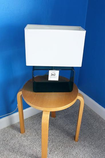 Table Lamp & Side Table