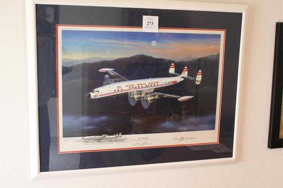"""evening Star"" Print By Mike Michat - Signed"