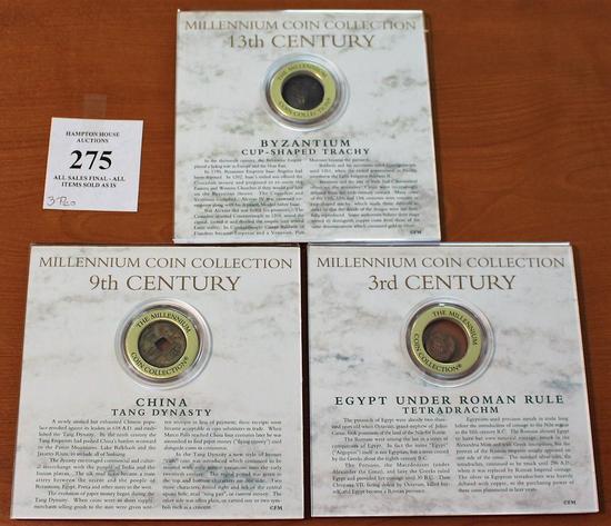 Millennium Coin Collection - Three Coins