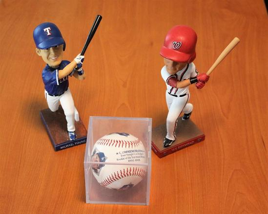 Three Baseball Collectibles