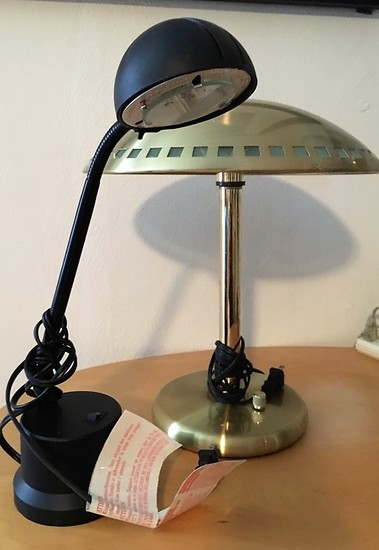 Pair Of Desk Or Table Lamps