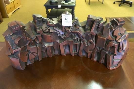 Abstract Musicians Ceramic Sculpture