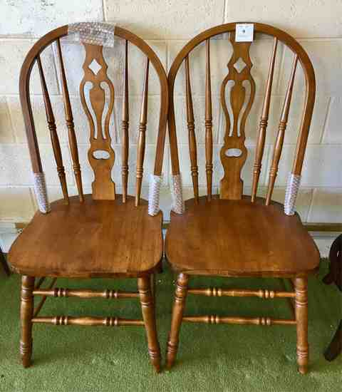 Two Windsor Style Chairs