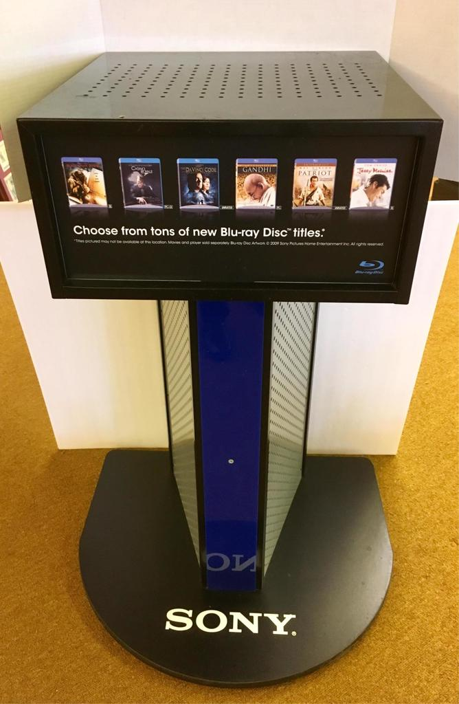 Sony Blu-ray Disc Advertising Display