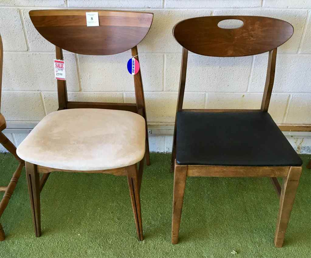 Two Mid-century Style Chairs