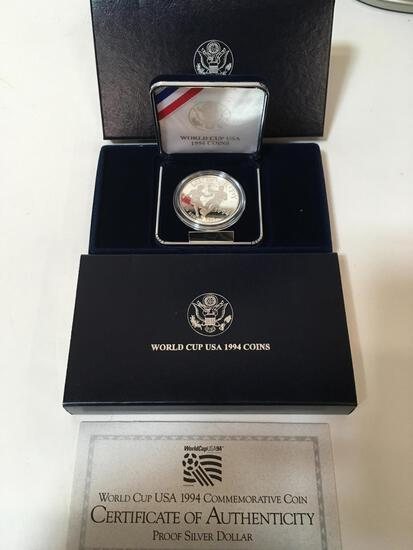 1994 WORLD CUP COIN - PROOF