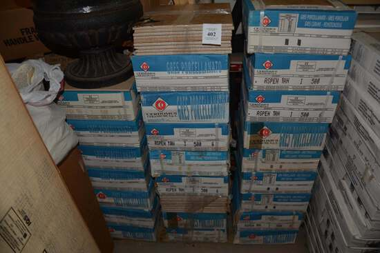 25 BOXES OF 12X 12 TILE ASPEN TAN