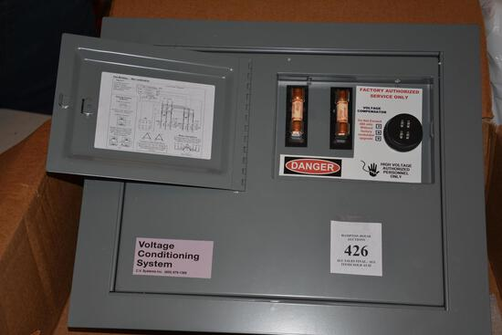 VOLTAGE CONDITIONING ELECTRIC PANEL