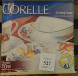 20 PCS OF CORELLE LIVINGWARE