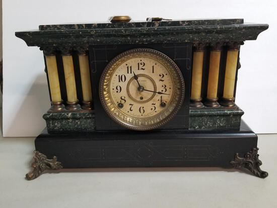 THE SETH THOMAS CLOCK - THOMASTON, CONN.