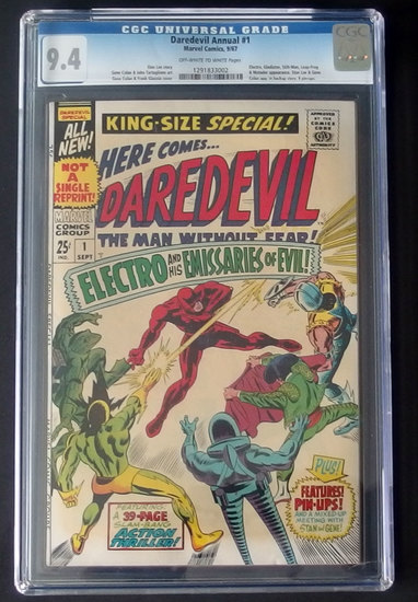 DAREDEVIL #1 ANNUAL CGC GRADED MARVEL COMIC