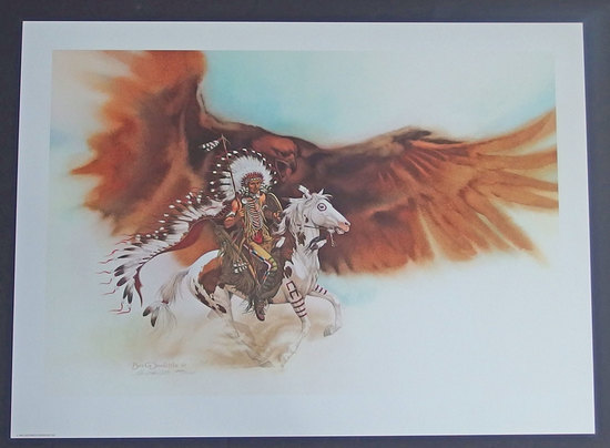 BEV DOOLITTLE LE SIGNED & NUMBERED PRINT