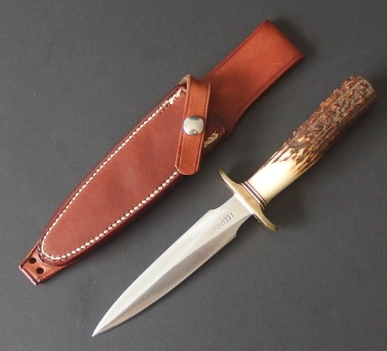 VINTAGE RANDALL MODEL 2-5 DAGGER W/SHEATH