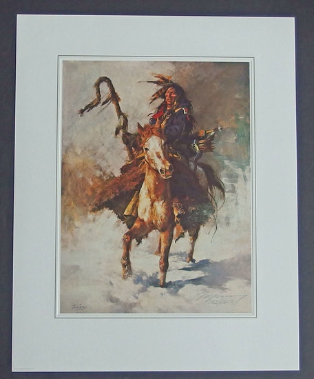 HOWARD TERPNING LE SIGNED & NUMBERED PRINT