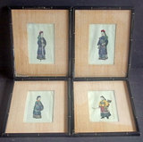 SERIES OF CHINESE COLORED LITHOGRAPHS