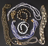 COLLECTION  VINTAGE MIRIAM HASKELL JEWELRY