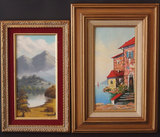 TWO (2) MID 20TH CENTURY OIL PAINTINGS