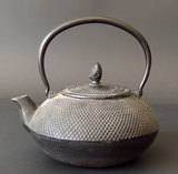 ANTIQUE CHINESE CAST IRON KETTLE