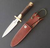 RANDALL MODEL 2-5C FIGHTING KNIFE W/SHEATH