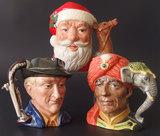 THREE (3) ROYAL DOULTON CHARACTER JUGS