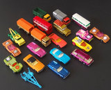 COLLECTION MATCHBOX SUPERFAST TOY VEHICLES MINT