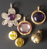 FRENCH MIXED METAL JEWELRY COLLECTION