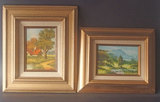 TWO (2) SIGNED LANDSCAPE PAINTINGS