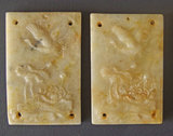 CHINESE JADE MINIATURE PLAQUES