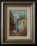 ABSTRACT IMPRESSIONISM OIL PAINTING