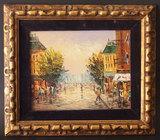 P. G. TIELE PARISIAN STREET SCENE