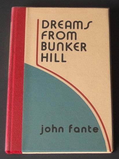 JOHN FANTE LE BLACK SPARROW PRESS 1ST EDIT BOOK