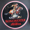 VINTAGE WINCHESTER WESTERN DOUBLE-SIDED SIGN