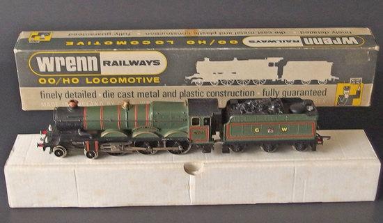 WREN RAILWAYS STEAM LOCO & TENDER BOXED