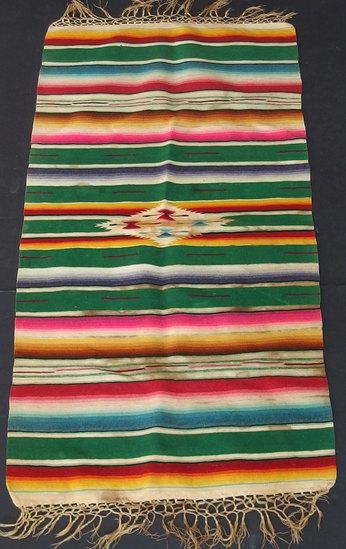 OLD MEXICAN SALTILLO TEXTILE