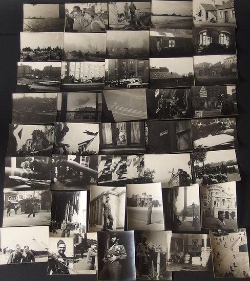 WWII MEMORABILIA:A SOLDIER'S PHOTOGRAPHIC JOURNEY