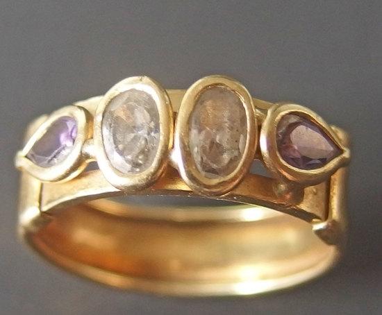 VICENZA 18KT GOLD & DIAMOND RING