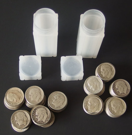 100 SILVER ROOSEVELT DIME COINS