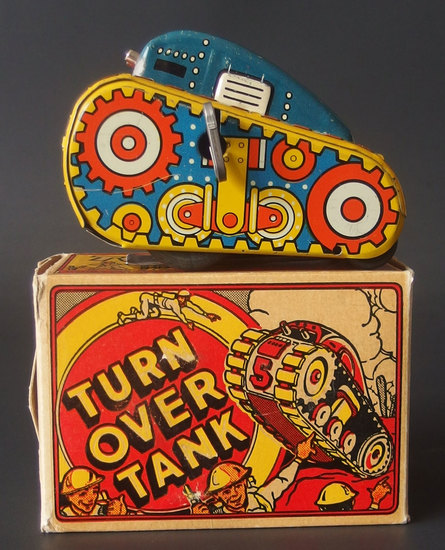 MARX TURNOVER TANK WITH BOX