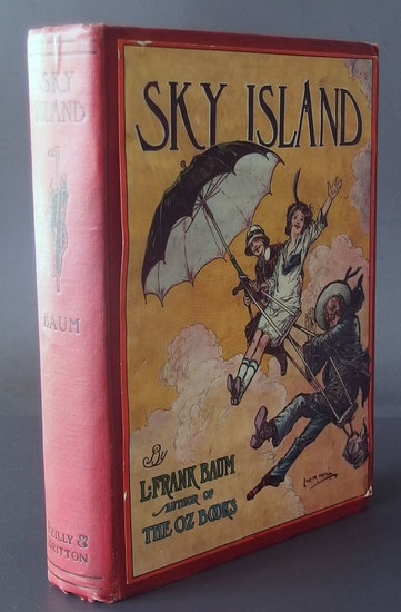 L. FRANK BAUM SKY ISLAND 1ST EDITION BOOK