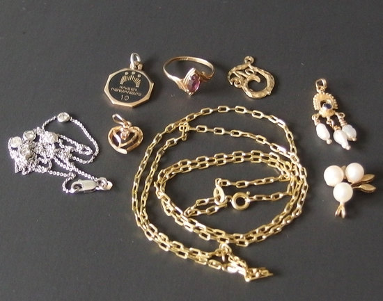 GOLD JEWELRY COLLECTION