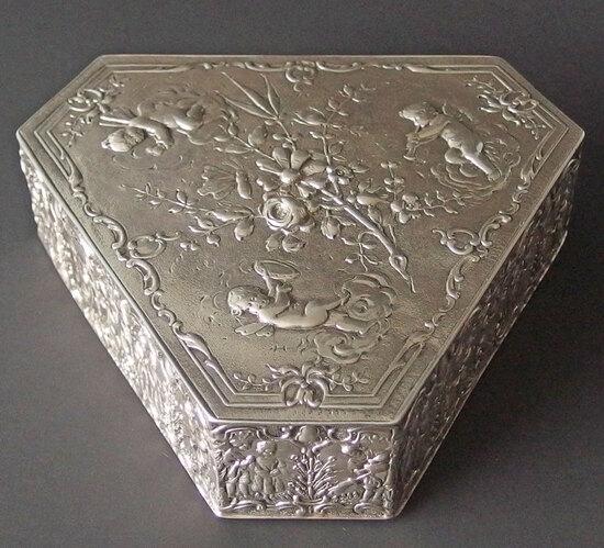 STERLING BOX: HANAU STORCKT & SINSHEIMER