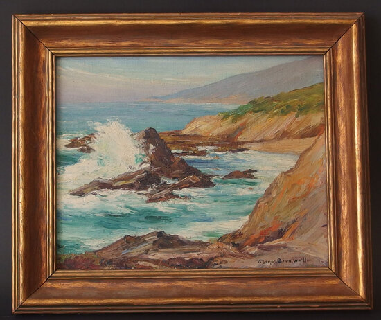 JOANE CROMWELL CALIFORNIA SEASCAPE PAINTING