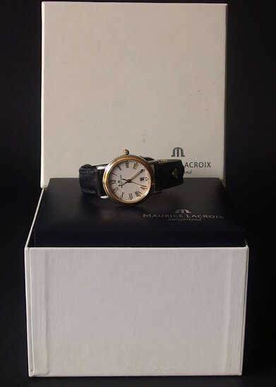MAURICE LACROIX LC 1014 WRISTWATCH W/BOX