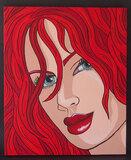 MICHELE LYNCH POP ART PORTRAIT