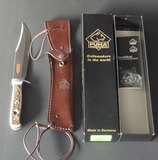 PUMA HANDMADE BOWIE KNIFE W/BOX & SHEATH