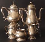 KENWORTH STERLING SILVER COFFEE/TEA SET