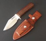 VINTAGE RANDALL MODEL 19 BUSHMASTER KNIFE W/SHEATH