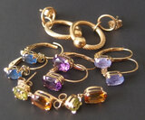 14KT GOLD EARRING COLLECTION