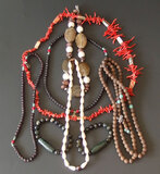 CHINESE BEADED NECKLACE/BRACELET COLLECTION